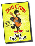 Dan Crow Kids Music Video DVD - Just For Fun, Featuring Oops