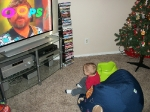 This is Dan's great nephew, Elijah, watching Dan Crow's DVD